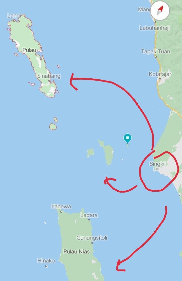 Jadwal Kapal Penyebragam dari Singkil ke Simeulue kota Sinabang dan juga ke Nias